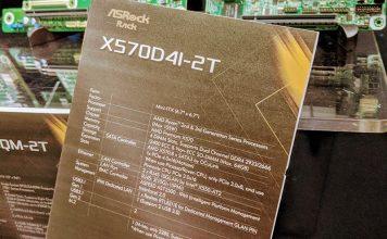 ASRock Rack X570D4I 2T Tag At SC19