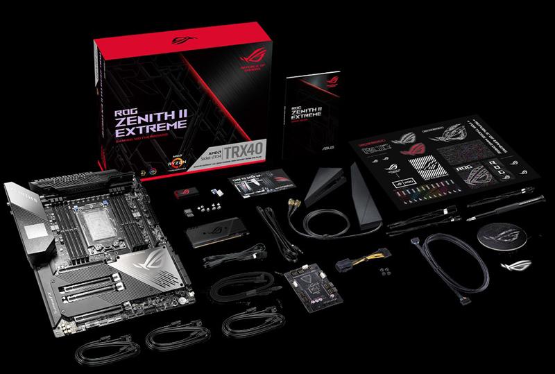 ASUS ROG Zenith II Extreme Accessories