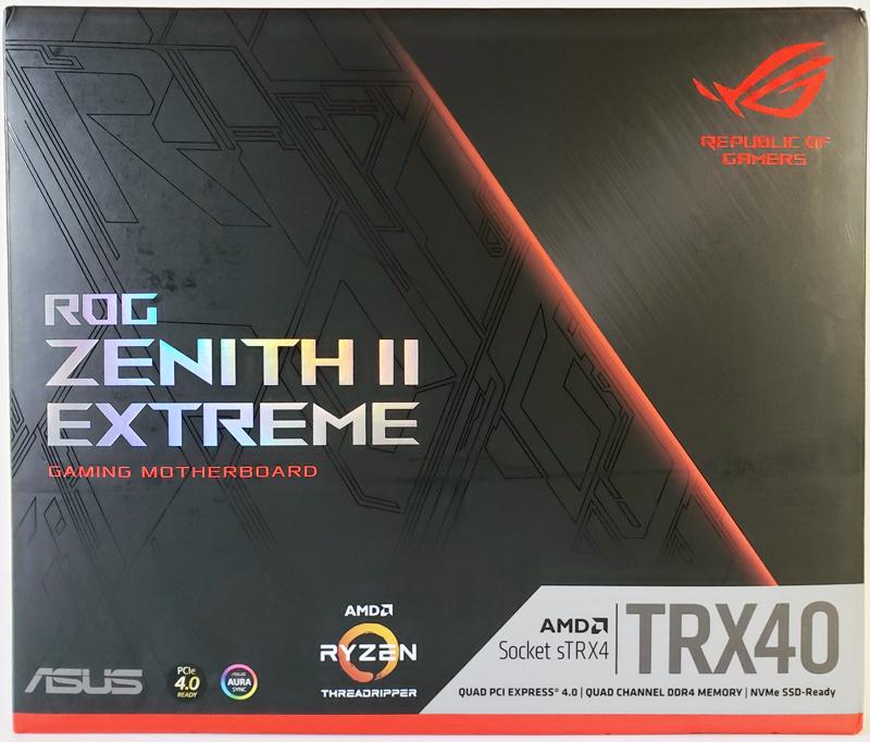 ASUS ROG Zenith II Extreme Box Front