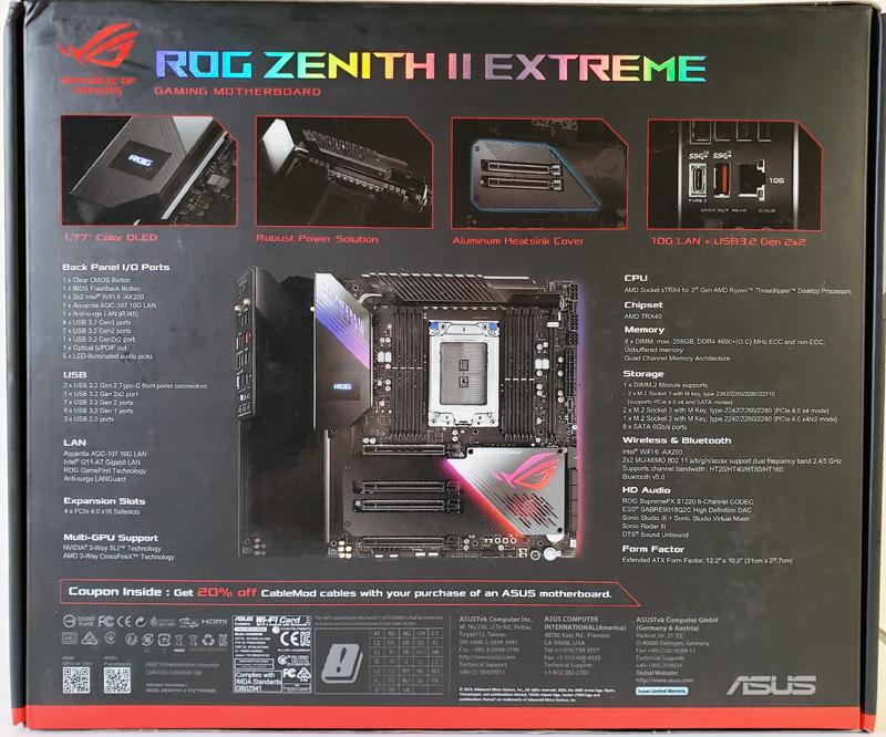 ASUS ROG Zenith II Extreme Pic 3