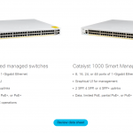 Cisco Catalyst 1000 Series Switches