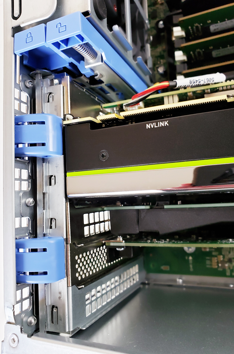 Dell Precision T7920 Workstation PCIe Locking Bar