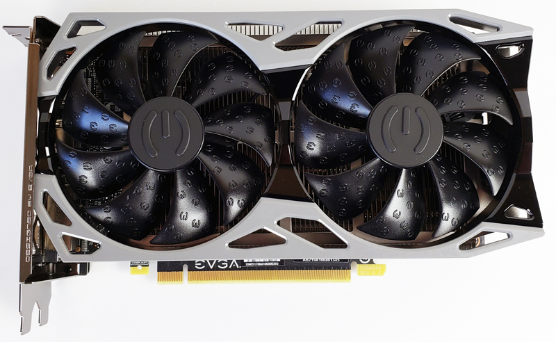 EVGA GTX 1660 SUPER SC ULTRA Top