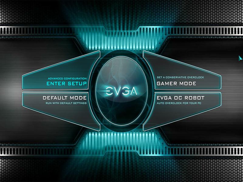 EVGA X299 Dark BIOS Home