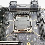 EVGA X299 Dark CPU Socket And Memory Slots