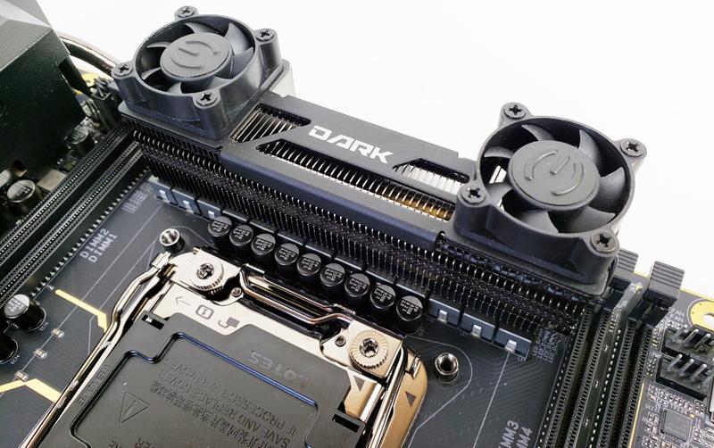 EVGA X299 Dark Power VRM Heat Sink