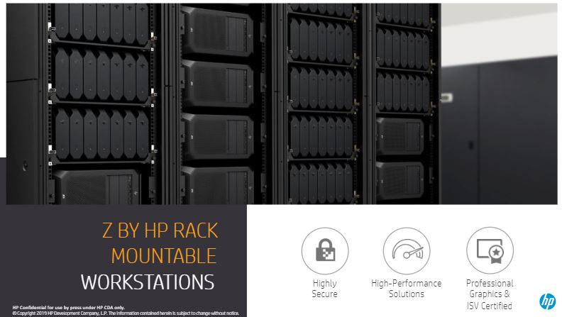 HP Z By HP Rack Mountable Workstations