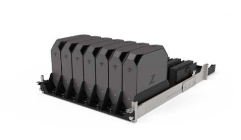 HP Z2 Mini Rack Mounted