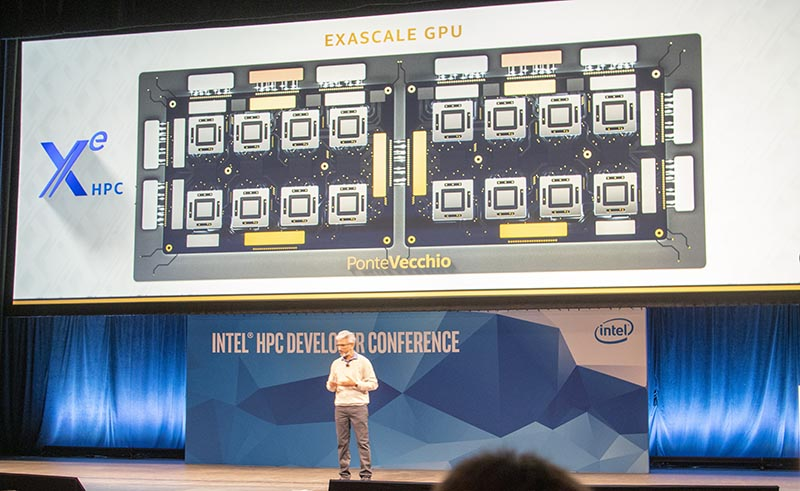 Intel Ponte Vecchio Exascale GPU For Xe HPC