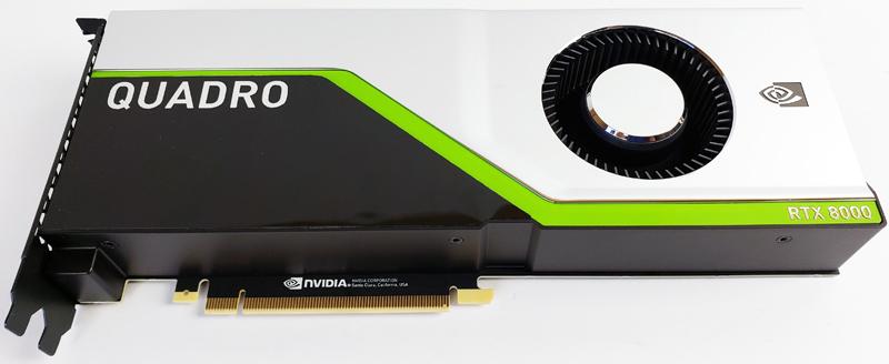 NVIDIA Quadro RTX 8000 Top