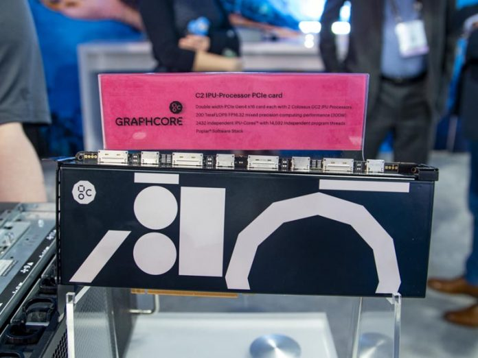Production Graphcore C2 IPU PCIe Card At SC19