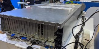 QCT QuantaGrid D52G 4U Rear Angle With QCT E3S10