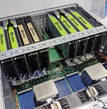 Supermicro AS 4124GS TNR At SC19 Top View