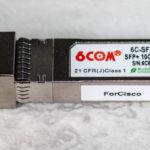 6COM 6C SFP 10G T Adapter