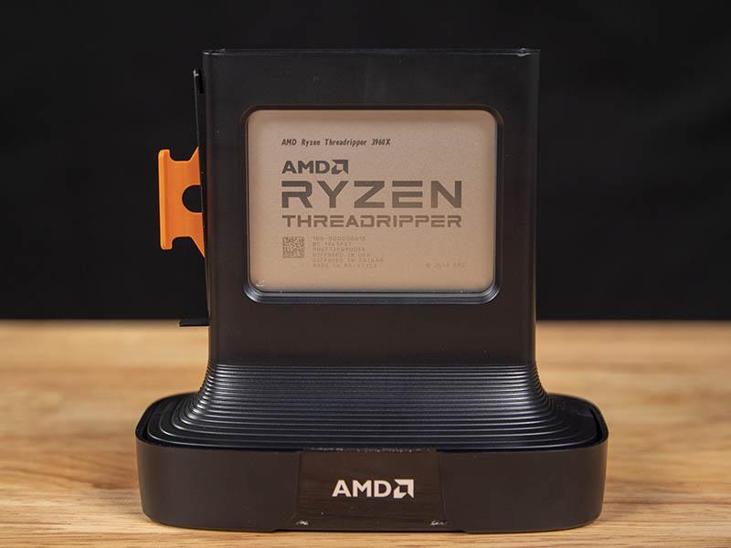 AMD Ryzen Threadripper 3960X In Partial Package