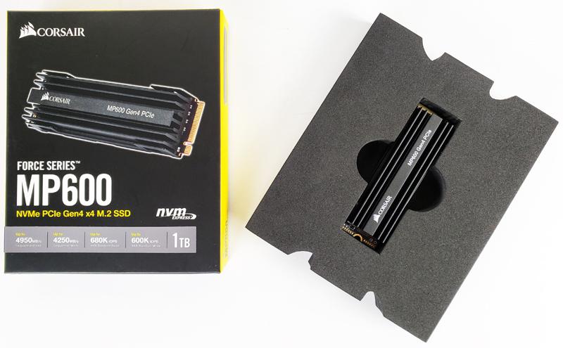 Corsair Force MP600 1TB Retail Box Contents