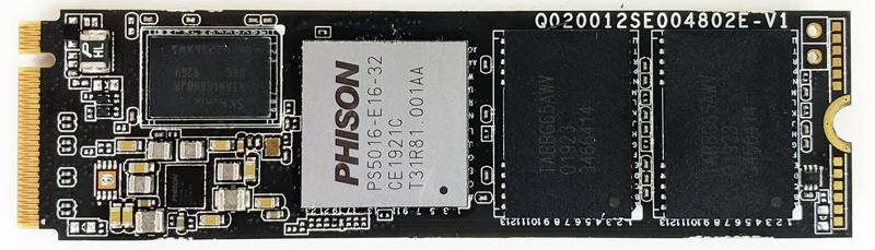 Corsair Force MP600 1TB Top