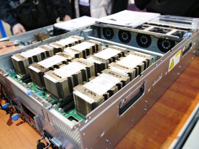 Inspur FP5468G2 With 8x Tesla V100 Base Board