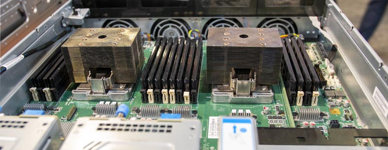 Inspur Power Systems Dual CPU Heatsinks