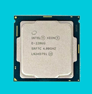 Intel Xeon E 2286G Cover