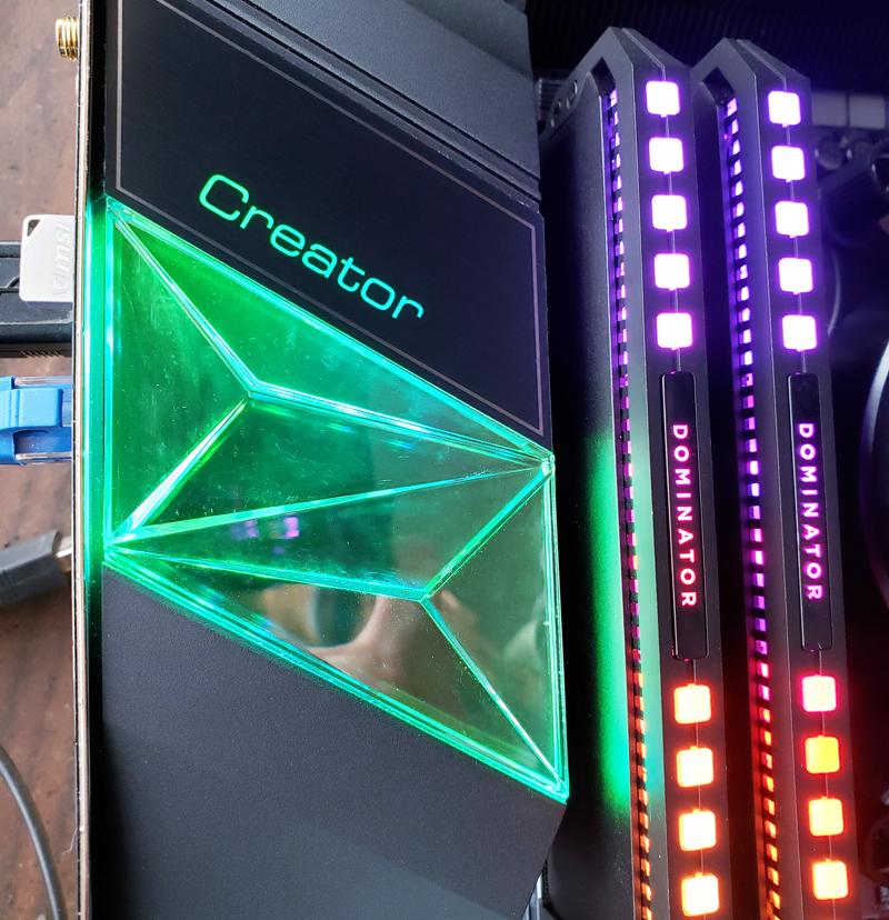 MSI Creator TRX40 RGB Crystal