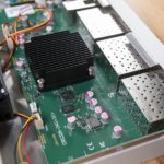 MikroTik CRS326 24S 2Q RM Heatsink And SFP Cages