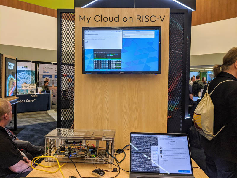 RISC V Summit 2019 WD Showing Updated My Cloud On RISC V