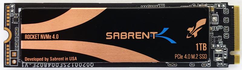 Sabrent Rocket 4 1TB Top
