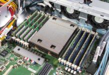 Tyan TS65A B8036 AMD EPYC CPU Heatsink And Memory