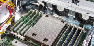 Tyan TS65A B8036 AMD EPYC CPU Heatsink And Memory