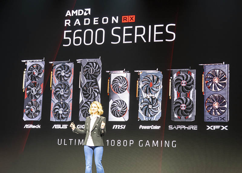 AMD Radeon RX 5600 At CES 2020
