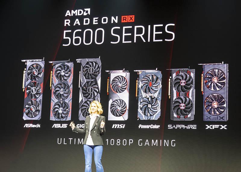 AMD Radeon RX 5600 tại CES 2020
