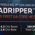 AMD Ryzen Threadripper 3990X Key Specs