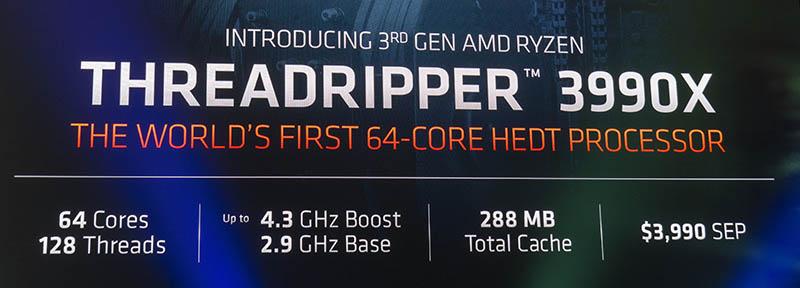 Dr Lisa Su With AMD Ryzen Threadripper 3990X