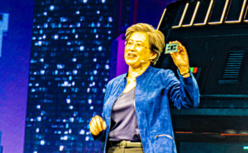 Dr Lisa Su With AMD Ryzen Threadripper 3990X