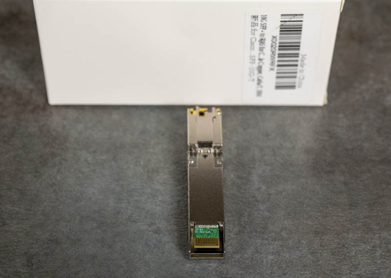 FIBAY 10G SFP T CI SFP PCB Connector