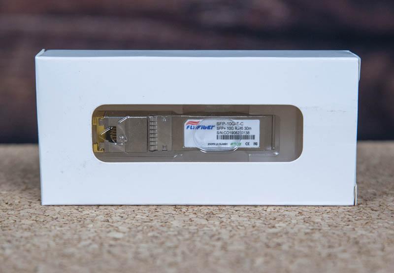 FlyFiber SFP 10G T C Module In Box