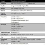 Lenovo ThinkCentre M90n Nano IoT Specifications