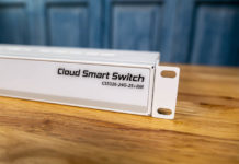 MikroTik CSS326 24G S+RM Switch Label And Cover