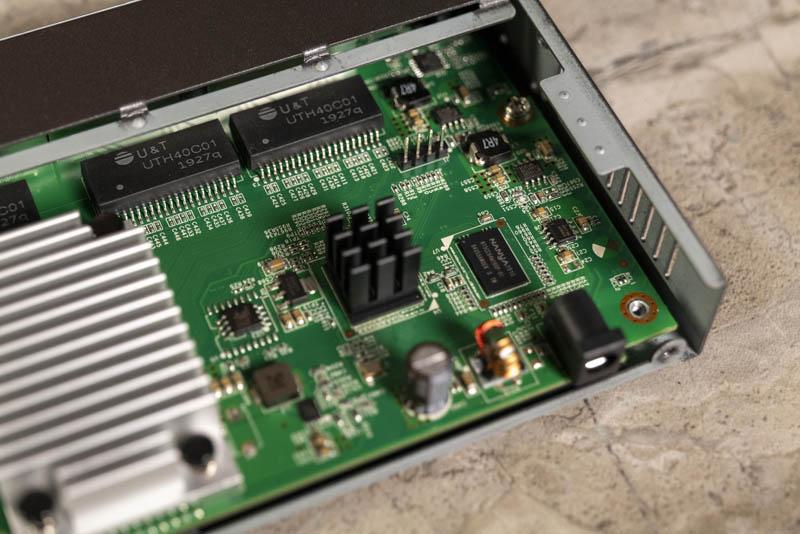 Netgear GS110EMX CPU And Nanya Memory