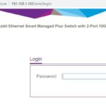 Netgear GS110EMX Management