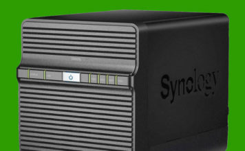 Synology DS420j Front
