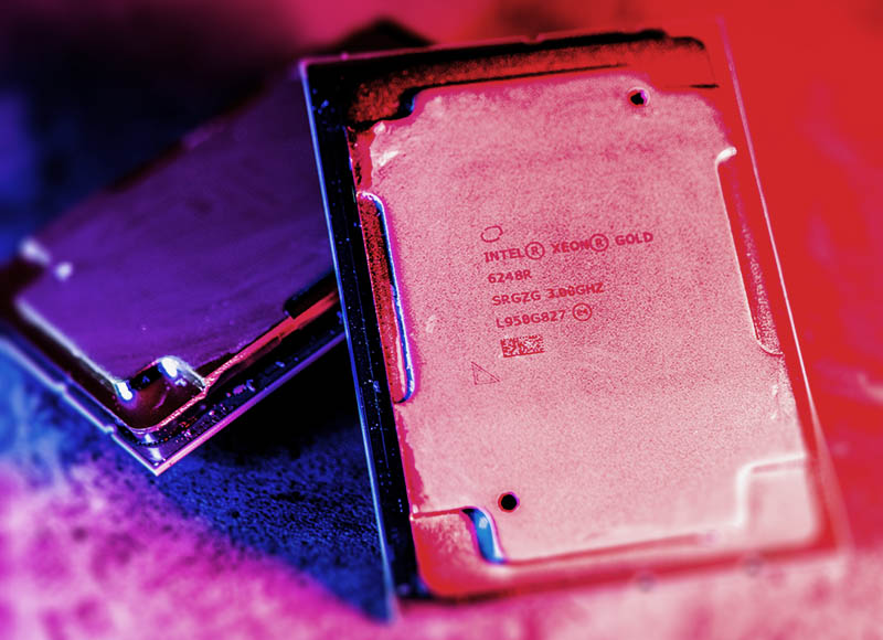 2nd Gen Intel Xeon Scalable Refresh Cover With Xeon Gold 6248R CPUs