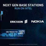 5G Base Station 40 Percent Intel MSS BY 2021