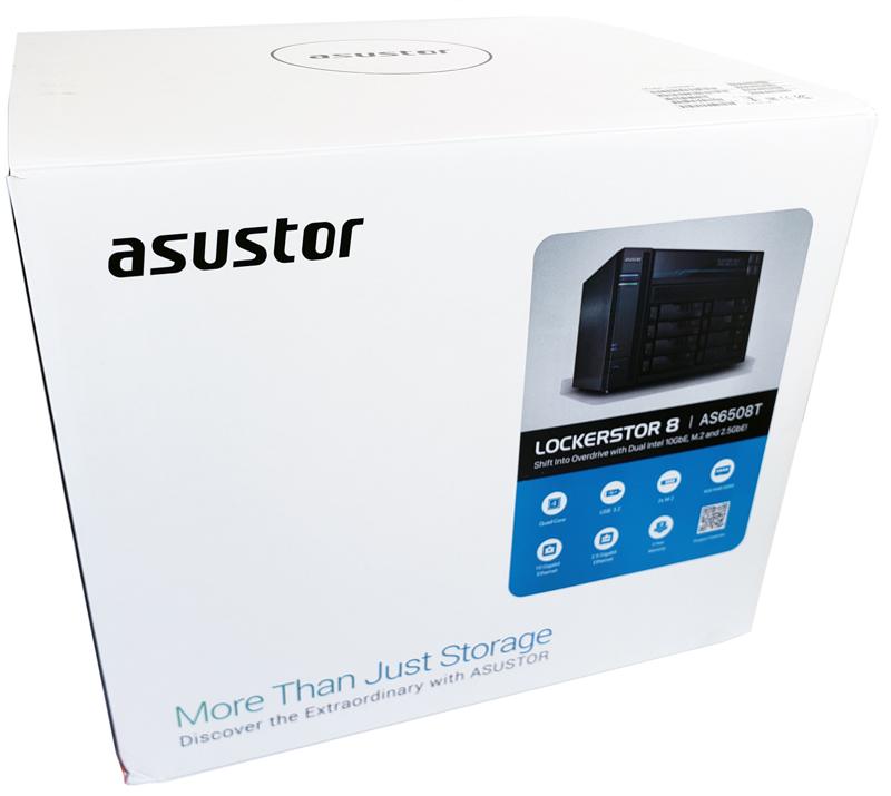 ASUSTOR Lockerstor 8 AS6508T Retail Box