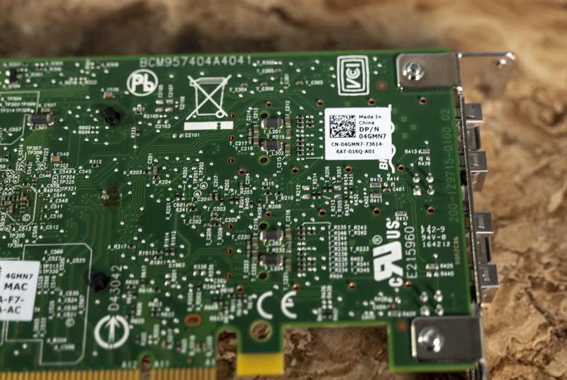 Dell EMC 4GMN7 Broadcom 57404 Dual 25GbE Adapter Ethtool