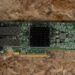 Dell EMC 4GMN7 Broadcom 57404 Dual 25GbE Adapter Top View