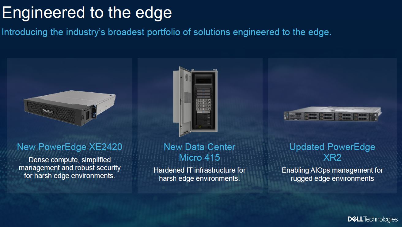 Dell Technologies Edge 2020 New Hardware