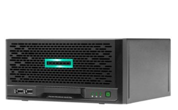 HPE ProLiant MicroServer Gen10 Front Three Quarters