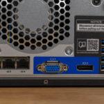 HPE ProLiant MicroServer Gen10 Plus Rear IO View